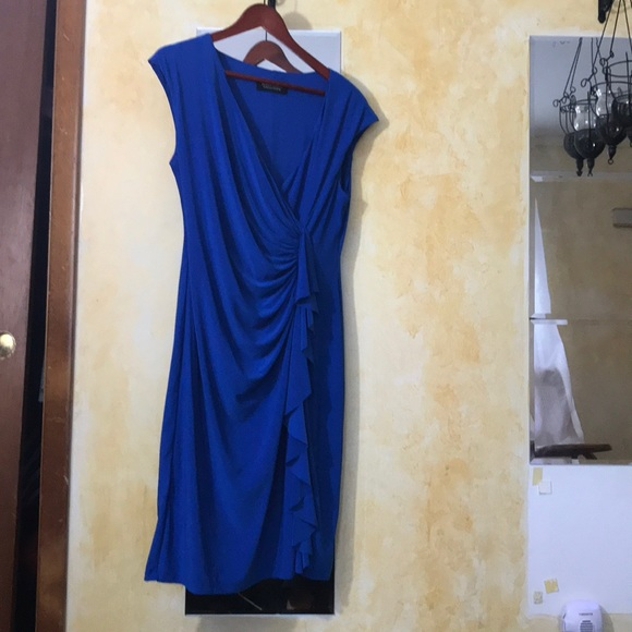 Evan Picone Dresses & Skirts - Stunning Blue Evan Picone Dress. Size 12.